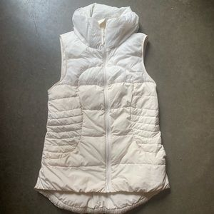 Lululemon Fluffin Awesome Down Puffer Vest White 4
